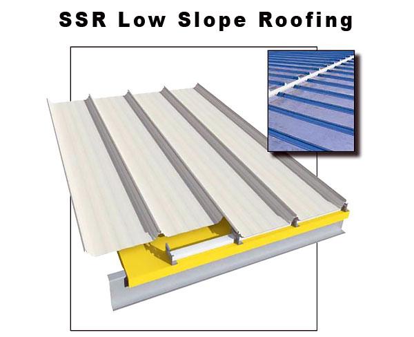 SSR Low Slope Roofing System, Williams Building Group Ohio