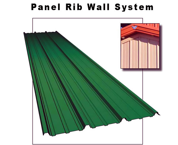 Panel Rib Wall System, Williams Building Group Ohio