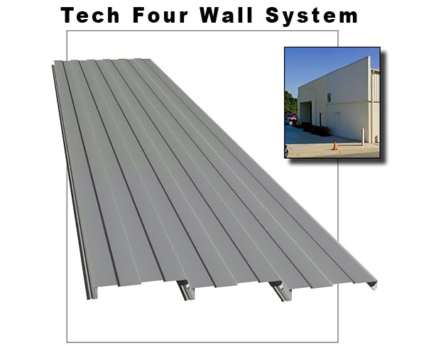 Tech Four Wall Panel System, Williams Building Group Ohio