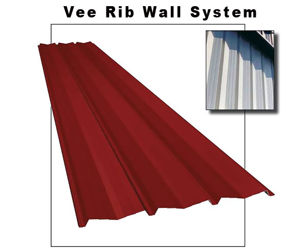 Vee Rib Wall System, Williams Building Group Ohio